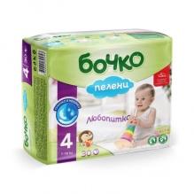 БОЧКО ПАМПЕРС 4 7-18КГ 30БР