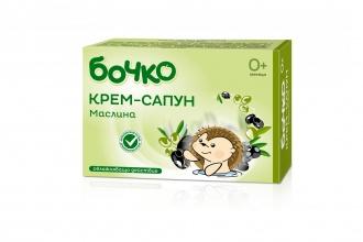 Бочко защитен бебешки крем-сапун с маслина