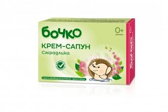 Бочко противовъзпалителен бебешки билков сапун