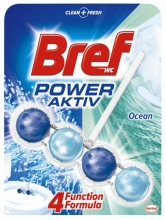 BREF WC ТОАЛЕТНО БЛОКЧЕ 4 FUNCTION POWER ACTIV OCEAN 50ГР