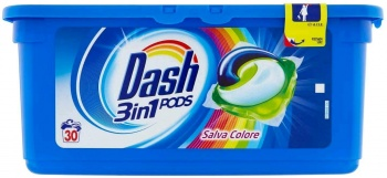 DASH КАПСУЛИ ALL IN 1 PODS COLOR 30БР
