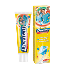 DENTAL ПАСТА ЗА ЗЪБИ FAMILY VITAMINS & MINERALS 100МЛ