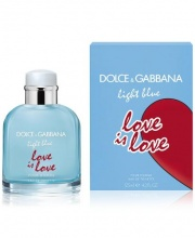 DOLCE & GABBANA LIGHT BLUE LOVE IN LOVE ПАРФЮМНА ВОДА ЗА МЪЖЕ 125МЛ