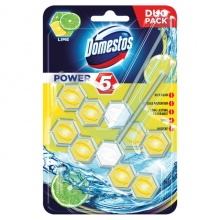 DOMESTOS WC POWER 5 DUO PACK LIME