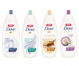 DOVE ДУШ КРЕМ MOISTURIZING BODY WASH 250МЛ