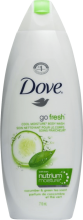 DOVE ДУШ ГЕЛ GO FRESH CUCUMBER AND GREEN TEA 700МЛ