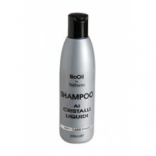 BioPharma Bio Oil шампоан с течни кристали против накъсване и двойни връхчета на косата