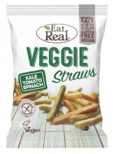 EAT REAL VEGGIE STRAWS СНАКС ЗЕЛЕНЧУКОВИ ПРЪЧИЦИ 45 ГР