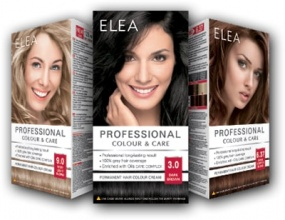 ELEA БОЯ ЗА КОСА PROFESSIONAL COLOUR & CARE 120МЛ