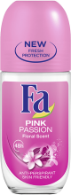 FA РОЛ-ОН PINK PASSION ЗА ЖЕНИ 50МЛ