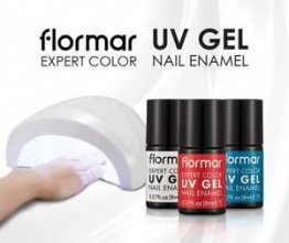 FLORMAR ЛАК ЗА НОКТИ EXPERT COLOR UV GEL NAIL ENAMEL 8МЛ