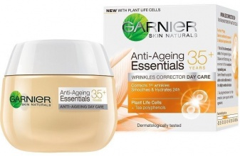 GARNIER ДНЕВЕН КРЕМ ЗА ЛИЦЕ 35+ ANTI-AGEING ESSENTIALS WRINKLES CORRECTOR 50МЛ