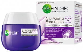 GARNIER ДНЕВЕН КРЕМ ЗА ЛИЦЕ 55+ ANTI-AGEING ESSENTIALS REJUVENATION 50МЛ