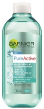 GARNIER МИЦЕЛАРНА ВОДА PURE ACTIVE CLEANSING MICELLAR WATER 400ML