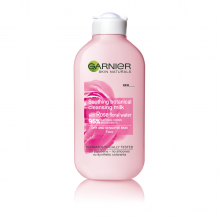 GARNIER ТОАЛЕТНО МЛЯКО SOOTHING BOTANICAL CLEANSING MILK WITH ROSE FLORAL WATER СУХА И ЧУВСТВИТЕЛНА КОЖА 300МЛ
