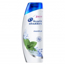 HEAD & SHOULDERS ШАМПОАН MENTHOL 360МЛ