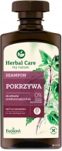 HERBAL CARE ШАМПОАН ЗА МАЗНА КОСА С КОПРИВА 300МЛ
