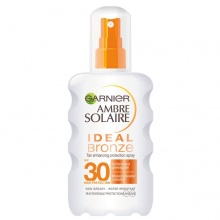 GARNIER СЛЪНЦЕЗАЩИТЕН СПРЕЙ AMBRE SOLAIRE IDEAL BRONZE SPF30 200МЛ
