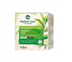 FARMONA КРЕМ ЗА ЛИЦЕ HERBAL CARE GREEN TEA МАТИРАЩ 50МЛ