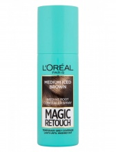 L`ORéAL Magic Retouch спрей оцветител за бели коси, Вариант: medium iced brown