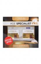 L'oreal Age Specialist 65+ дневен крем + нощен крем