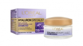 L'OREAL КРЕМ ЗА ЛИЦЕ HYALURON SPECIALIST НОЩЕН 50МЛ