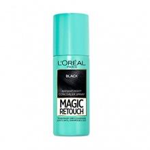 L`ORéAL Magic Retouch спрей оцветител за бели коси, Вариант: black