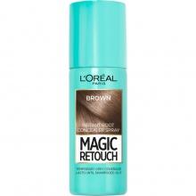 L`ORéAL Magic Retouch спрей оцветител за бели коси, Вариант: brown