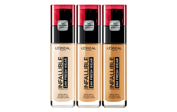 L'OREAL ФОН ДЬО ТЕН INFALLIBLE 24 FRESH WEAR 30МЛ