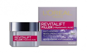L'OREAL КРЕМ ЗА ЛИЦЕ REVITALIFT FILLER+HYALURONIC ACID 50МЛ