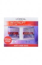 L'oreal Revitalift Filler дневен крем + нощен крем против бръчки