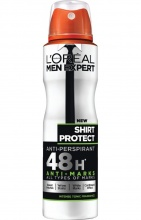 L'OREAL ДЕЗОДОРАНТ MEN EXPERT SHIRT PROTECT/CONTROL ЗА МЪЖЕ 150МЛ