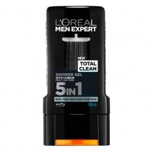 L'OREAL ДУШ ГЕЛ TOTAL CLEAN MAN ЗА МЪЖЕ 300МЛ
