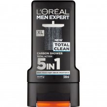 L'OREAL ДУШ ГЕЛ MEN EXPERT TOTAL CLEAN 300МЛ