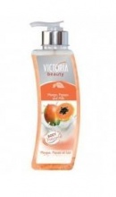 VICTORIA BEAUTY ЛОСИОН ЗА ТЯЛО MANGO, PAPAYA AND MILK 400МЛ