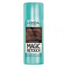 L`ORéAL Magic Retouch спрей оцветител за бели коси, Вариант: dark brown