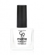 GOLDEN ROSE ТОП ЛАК MATTE TOP COAT NAIL LACQUER МАТИРАЩ 10.5МЛ