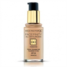 MAX FACTOR ФОН ДЬО ТЕН FACEFINITY ALL DAY FLAWLESS 3В1 BRONZE 80 30МЛ