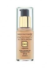 MAX FACTOR ФОН ДЬО ТЕН FACEFINITY ALL DAY FLAWLESS 3В1 GOLDEN 75 30МЛ