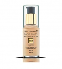 MAX FACTOR ФОН ДЬО ТЕН FACEFINITY ALL DAY FLAWLESS 3В1 SAND 60 30МЛ