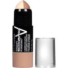 MAYBELLINE ФОН ДЬО ТЕН MASTER CONTOUR V-SHAPE DUO STICK 7ГР 1 LIGHT