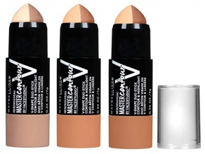 MAYBELLINE ФОН ДЬО ТЕН MASTER CONTOUR V-SHAPE DUO STICK 7ГР