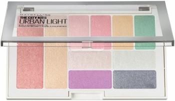 MAYBELLINE ПАЛИТРА ЗА ОЧИ И СКУЛИ THE CITY KITS 12ГР 1 URBAN LIGHT
