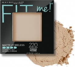 MAYBELLINE ПУДРА ЗА ЛИЦЕ FIT ME MATTE & PORELESS