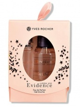 YVES ROCHER UNE EVIDENCE MINI КОМПЛЕКТ ЗА ЖЕНИ ПАРФЮМ 15МЛ + ДУШ ГЕЛ 50МЛ