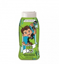 NATURAVERDE BEN 10 ДУШ ГЕЛ ЗА КОСА И ТЯЛО МАЩЕРКА 250МЛ