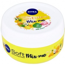 NIVEA КРЕМ ЗА ТЯЛО SOFT HAPPY EXOTIC MIX ME ЗА ЖЕНИ 100МЛ