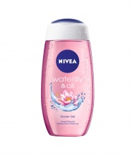 Nivea Water Lily & Oil душ гел за жени