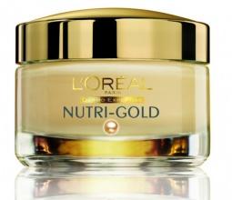 L`ORéAL Nutri Gold дневен крем за лице за подмладяване на кожата