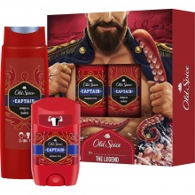 OLD SPICE КОМПЛЕКТ CAPTAIN СТИК 50МЛ + ДУШ ГЕЛ 250МЛ ЗА МЪЖЕ
